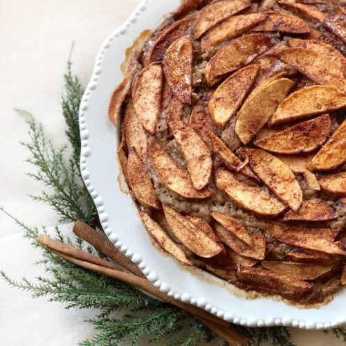Chai-Spiced Apple Cake